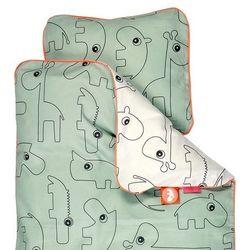 Pościel dla dzieci Contour (140x100 + 40x45) - zielona