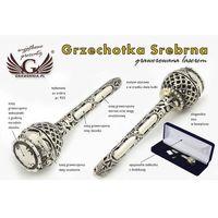 GRZECHOTKA - SREBRO - Pamiątka Chrztu Świętego - wzór SRB014
