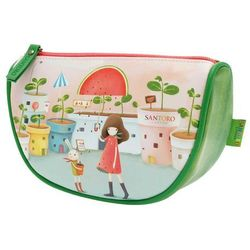 Kori Kumi, Melon Showers, duża kosmetyczka z klinem 3D z kategorii Pozostałe artykuły szkolne i plastyczne