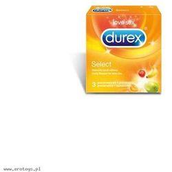 Prezerwatywy Durex Select A3 (antykoncepcja i erotyka)