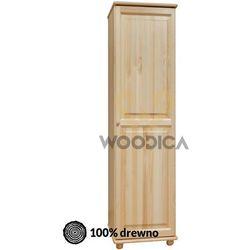 01.szafa 1d 60x190x60 marki Woodica