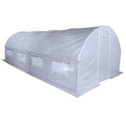 Home&Garden tunel foliowy, ogrodowy - 300 x 600 cm (18 m2) - biały (5901171170187)