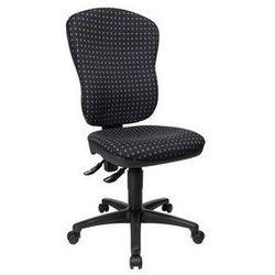 Topstar Standardowe krzesło obrotowe,bez poręczy, z podpórką lędźwi