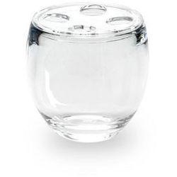 Umbra - Pojemnik na szczoteczki do zębów - Droplet - przeźroczysty