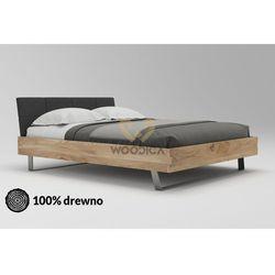 Łóżko dębowe cornus 01 120x200 marki Woodica