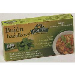 Bulion bazyliowy- kostki 6 sztuk BIO bezglutenowe - produkt z kategorii- Przyprawy i zioła