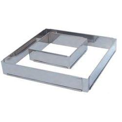 Forma do ciasta kwadratowa regulowana