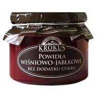 Powidła wiśnia-jabłko bez cukru 310g -  marki Krokus