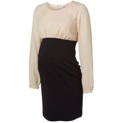 MAMALICIOUS Sukienka letnia black/creme - sprawdź w wybranym sklepie