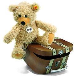 Steiff  maskotka miś charly z kuferkiem 30 cm (4001505012938)
