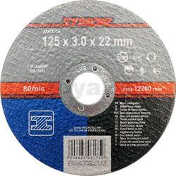 Tarcza do cięcia metalu 125 x 3,0 x 22 mm / 08175 /  - zyskaj rabat 30 zł marki Sthor
