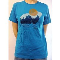 Marmot T-shirt koszulka  alpine zone tee ss mykonos blue