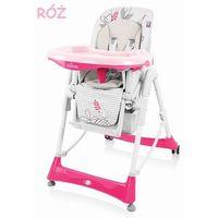 Baby design  bambi krzesełko do karmienia różowe 08 wysyłka 24h