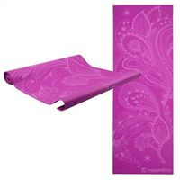 Mata do ćwiczeń  spirit joga, aerobik 172 x 61 cm - kolor fioletowy marki Insportline