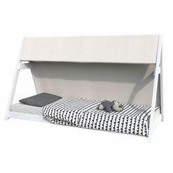 Łóżko tipi comanche - 90x200 cm - świerk - kolor biały marki Vente-unique