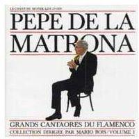 Flamenco v.1 pepe de la matrona marki Le chant du monde