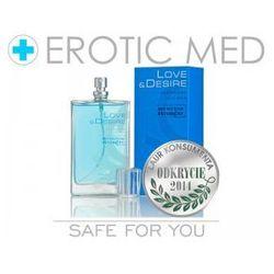 Feromony love&desire męskie premium 100ml nowa edycja wyprodukowany przez Sexual health series