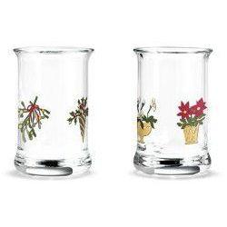 Świąteczne szklaneczki do likieru, 2 szt, szkło - marki Holmegaard