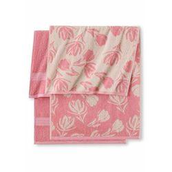 Bonprix Komplet ręczników (6 części) jasnoróżowy