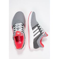 adidas Performance SOLAR RNR Tenisówki i Trampki grey/crystal white/shock red od Zalando.pl
