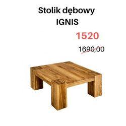 Signu Design Stolik kawowy + komoda RTV IGNIS - WYPRZEDAŻ