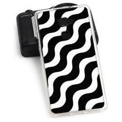 Fantastic Case - Huawei Mate S - etui na telefon Fantastic Case - biało-czarna fala - sprawdź w wybranym skl