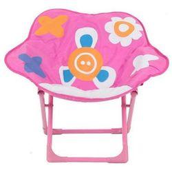 Krzesełko składane Różowy Kwiatek, kup u jednego z partnerów