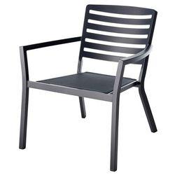 Krzesło GoodHome Mikyo antracyt, FCA40304E