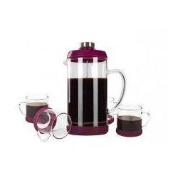 Zaparzacz do kawy 1L + 4filiżanki FLORINA - produkt z kategorii- Zaparzacze i kawiarki