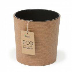 Donica Malwa ECO 19 cm naturalne drewno (5900119388424)