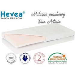 MATERAC PIANKOWY DUO ACTIVIA 140x70
