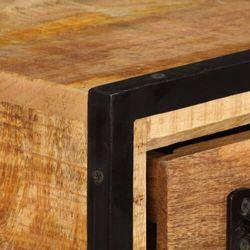 vidaXL Szafka pod TV z szufladami, 120x30x40 cm, lite drewno mango (8718475741558)