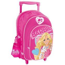 Plecak STARPAK 308367 na kółkach Barbie z kategorii Tornistry i plecaki