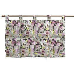 wezgłowie na szelkach, różowo-fioletowe fotografie, 90 x 67 cm, freestyle marki Dekoria