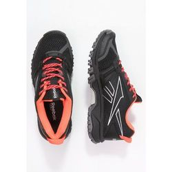 Reebok RIDGERIDER TRAIL Obuwie do biegania Szlak black/gravel/neon cherry/shark/steel