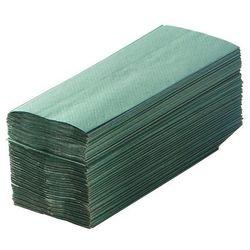 Ręczniki składane, lignina, zielony, opak.: 3120 ręczników. higieniczne i wydajn marki Cws