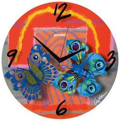 Zegar ścienny Volare Red, 27270652