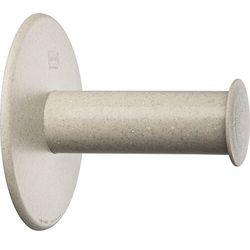 Wieszak na papier toaletowy plug'n roll recycled beżowy marki Koziol