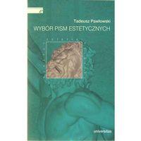 Wybór pism estetycznych (Tadeusz Pawłowski), oprawa miękka