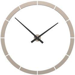 Zegar ścienny giotto  piaskowy marki Calleadesign