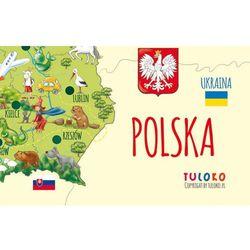 Mapa Polski - naklejka naścienna, Tuloko z mamagama