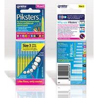 PIKSTERS R3 szczoteczki międzyzębowe żółte 10 szt., P2609