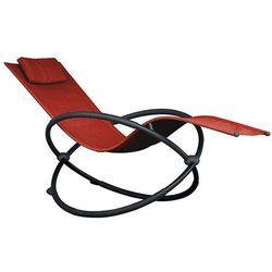 Leżak hamakowy Orbital, Czerwony ORBL1 - produkt z kategorii- Leżaki ogrodowe