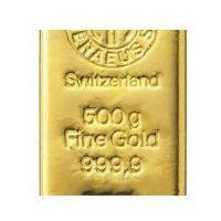 500g sztabka złota mennica Argor-Heraeus Szwajcaria Dostawa Natychmiastowa