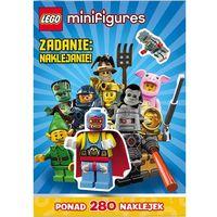 Lego ® Minifigures. Zadanie naklejanie! (16 str.)