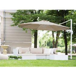 Parasol ogrodowy Ø300 cm mokka/biały SAVONA (4260602370994)