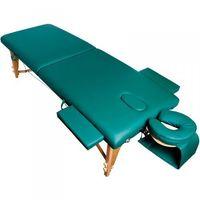 Stół składany do masażu komfort wood at-007 green marki Vanity_a