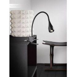 mento lampa z klipsem led czarny, 1-punktowy - nowoczesny/skandynawski - obszar wewnętrzny - mento - czas dostawy: od 10-14 dni roboczych marki Nordlux