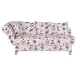 ENNIS kremowa sofa w kwiaty - wielokolorowe, kolor wielokolorowy