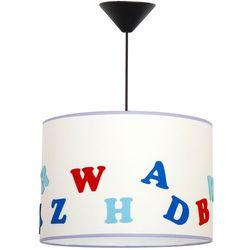 Aldex Lampa oprawa wisząca zwis dziecięca alfabet 1x60w e27 biała 657g2 (5904798622916)